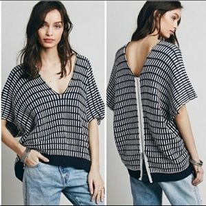 Free People Sweater 'Something Special' XS Poncho